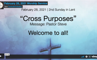Sunday Service – February 28, 2021